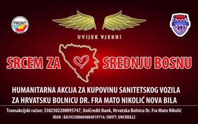 """Udruga navijača """"Uvijek vjerni"""" pokrenula veliku humanitarnu akciju pod nazivom """"Srcem za Srednju Bosnu"""""""