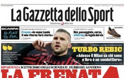 Rebić o dokazivanju u Milanu, Ibrahimoviću i budućnosti